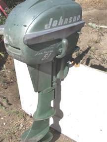 Vintage 5 HP Johnson Outboard Motors