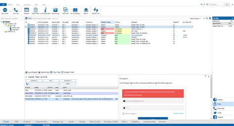 microsoft help desk software screenshots