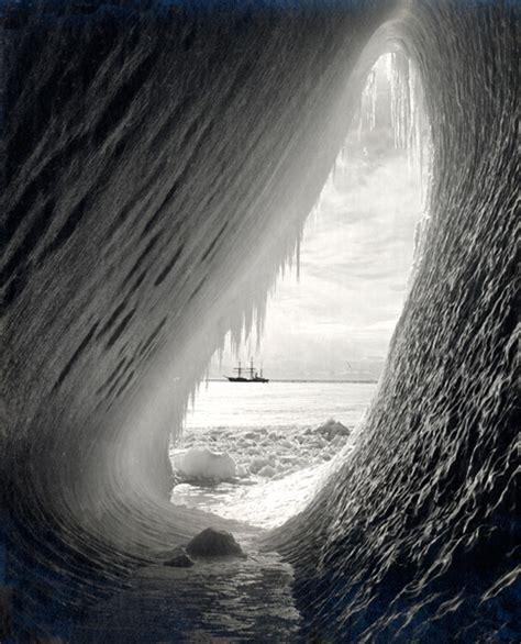 grotto   iceberg  herbert ponting iconic