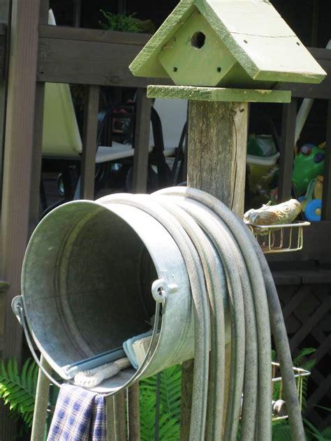 garden hose holder garden hose holders and hose reels five gallon ideas