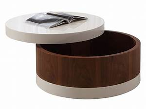 coffee tables ideas coffee tables with storage ottomans With circle storage coffee table