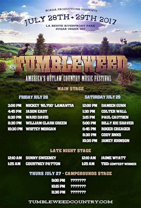 country fan fest 2017 lineup tumbleweed festival s talent search showcases some cool