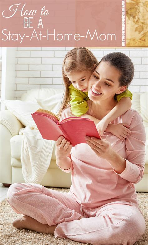 stay at home how to be a stay at home mom