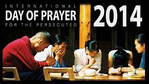 International Day Of Prayer 2014 Calls On Christian Community To Break Its Silence