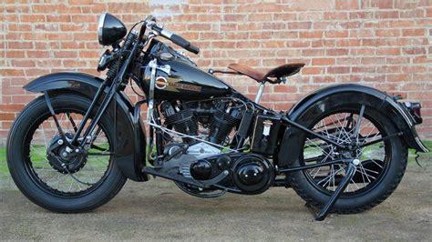 1938 Harley-davidson Prototype Knucklehead