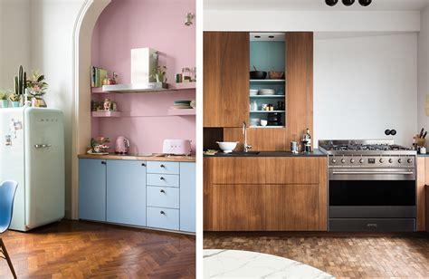 cuisine avec frigo smeg pretty cuisine smeg images gallery gt gt quand un