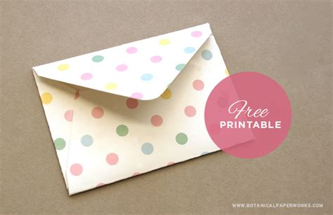 free printable envelope free printables easter treat envelopes botanical paperworks