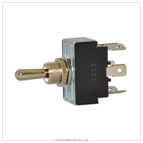 Momantery Dpdt Toggle Switch Off New Wire Marine