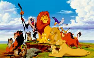 Lion King Movie Characters
