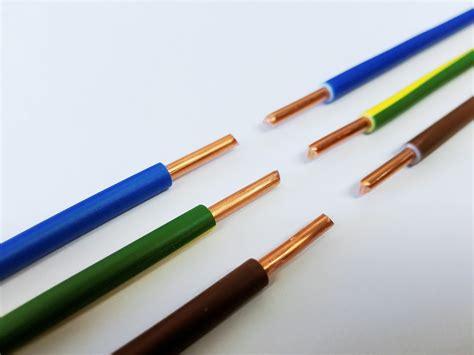 stromkabel einzeladern kabelfarben bedeutung