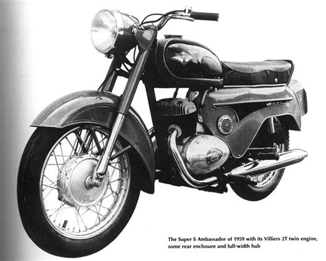 1959 Ambassador Super S With The Villiers 2t 250cc Twin