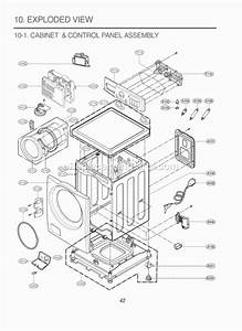 Lg Wm2277hs Parts List And Diagram   Ereplacementparts Com