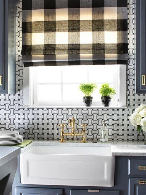 large kitchen window treatments hgtv pictures ideas hgtv