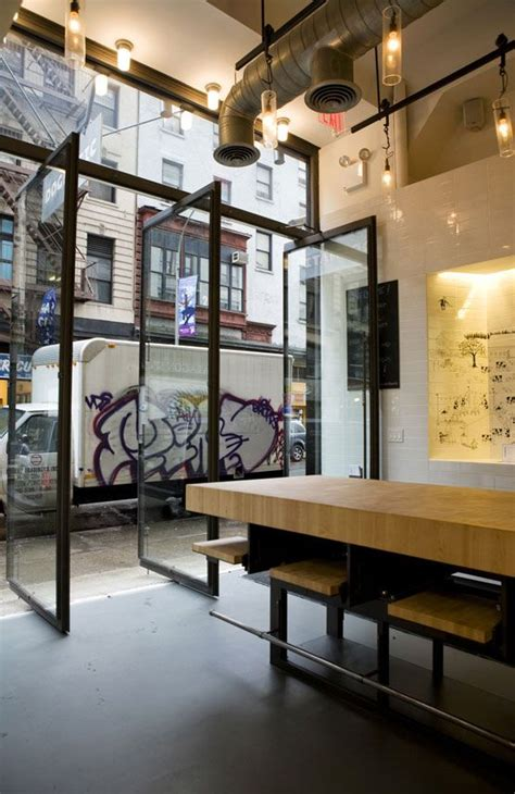 dogmatic restaurant storefront  interior  efgh