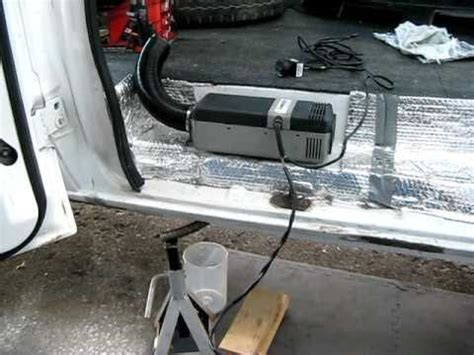 webasto air top  diesel heater running  hal  van