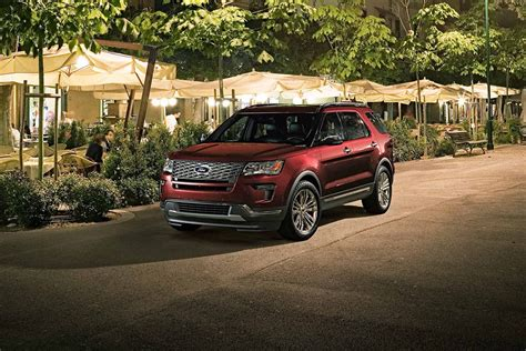 2018 Ford Explorer Platinum Near Denver Colorado