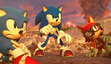 sonic forces    trailer focusing  eggmans narrative