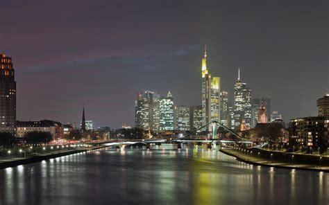 frankfurt skyline germany wallpapers