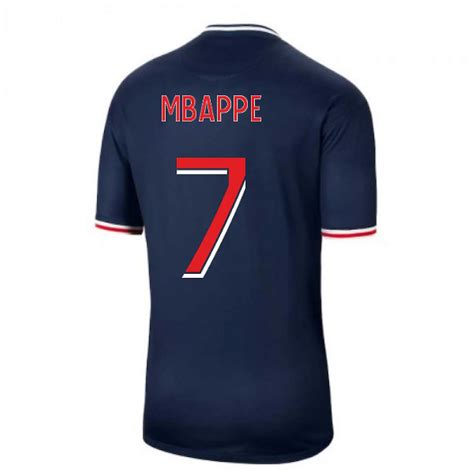 Mbappe became a world cup champion with france few days ago and took the fifa best young player award as well. 2020-2021 PSG Home Nike Football Shirt (MBAPPE 7) | Fruugo UK