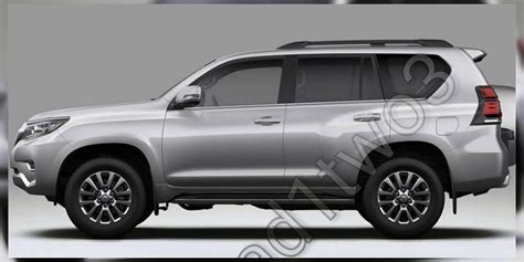toyota prado facelift leaked update