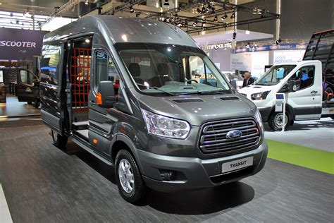 New 2019 Ford Transit Facelift