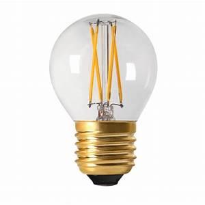 Ampoule Led Filament : petite ampoule led e27 filament led basse consommation ~ Teatrodelosmanantiales.com Idées de Décoration