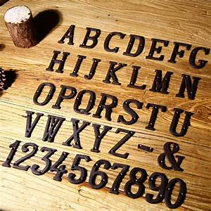 cast iron address letters house letter house numbers and With iron house numbers and letters