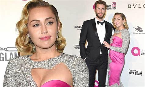 Oscars 2018: Miley Cyrus and Liam Hemsworth attend Elton