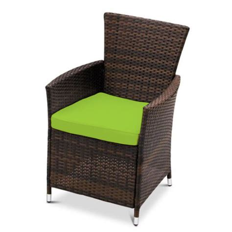 replacement dining chair cushions to fit rattan garden furniture patio wicker ebay