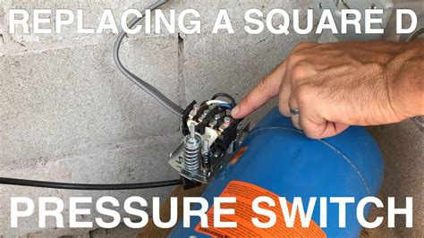 replacing  square  pressure switch youtube
