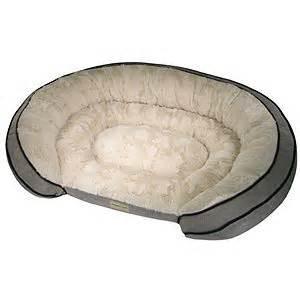 poochplanet grand comfort pet bed grey 42 quot x 30