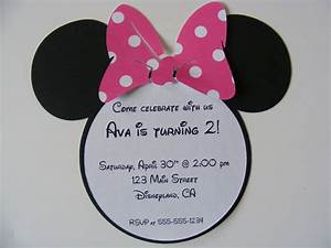 minnie mouse invitation template | Birthday ideas ...