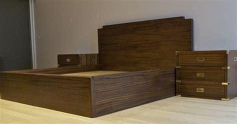 simple  elegant campaign style bedroom set custom