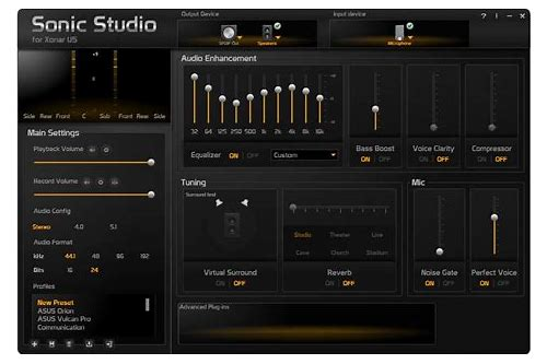 asus sonic studio pro download