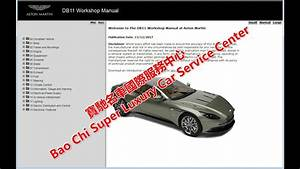 Aston Martin Db11 Workshop Manual  Service Manual  Repair