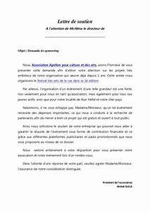 Lettre Demande De Sponsoring : modele lettre sponsoring ~ Medecine-chirurgie-esthetiques.com Avis de Voitures
