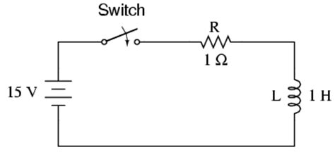 Inductor Transient Response Time Constants