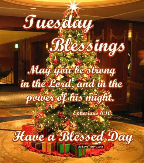 tuesday blessings inspirational christmas quote pictures
