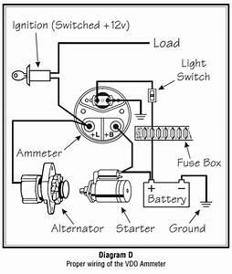 Vdo Ammeter Wiring Diagram