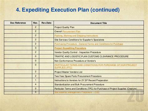 procurement expediting training