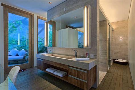 bathroom design idea extra large sinks  trough sinks