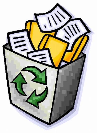 Paper Clipart Less Papel Recycle Clip Waste