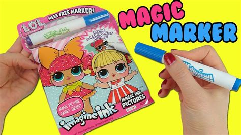 imagine ink coloring book lol imagine ink coloring book with magic marker