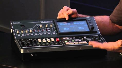 Usb Multi Format Audio Video Mixer From Roland Youtube