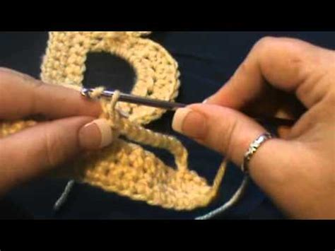 how to sign a letter quot crocheted letters quot quot b quot 26820