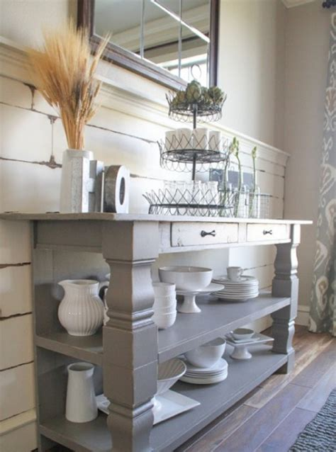 How To Make A Sideboard by How To Make Turned Leg Buffet Table My Home Decor Guide