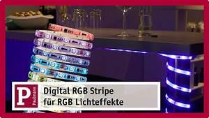 Außenbeleuchtung Mit Fernbedienung Steuern : digital led strips mit fernbedienung rgb lichteffekte ~ Watch28wear.com Haus und Dekorationen