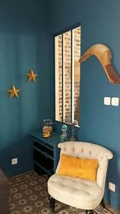 Bleu Paon Dulux : bleu paon dulux valentine colors ~ Nature-et-papiers.com Idées de Décoration
