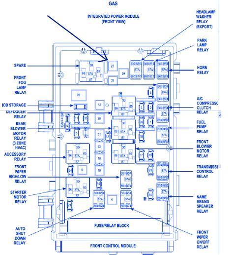 dodge caravan se 2002 fuse box block circuit breaker