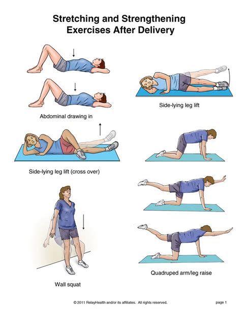 exercises with pictures